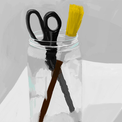 Moe murdock paint brush