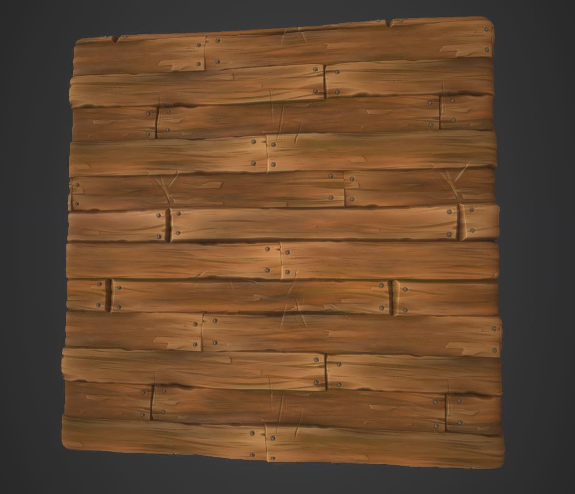 Hugo beyer stylized wood2