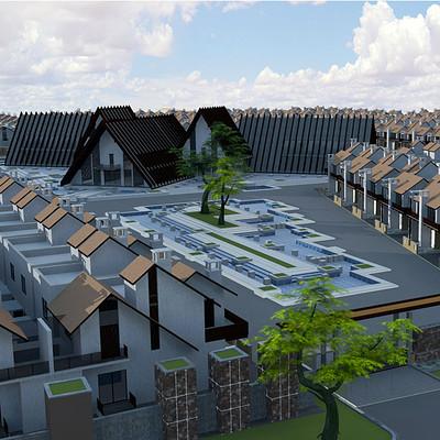 Vibhas virwani 3d architecture model 3 by vibhas virwani