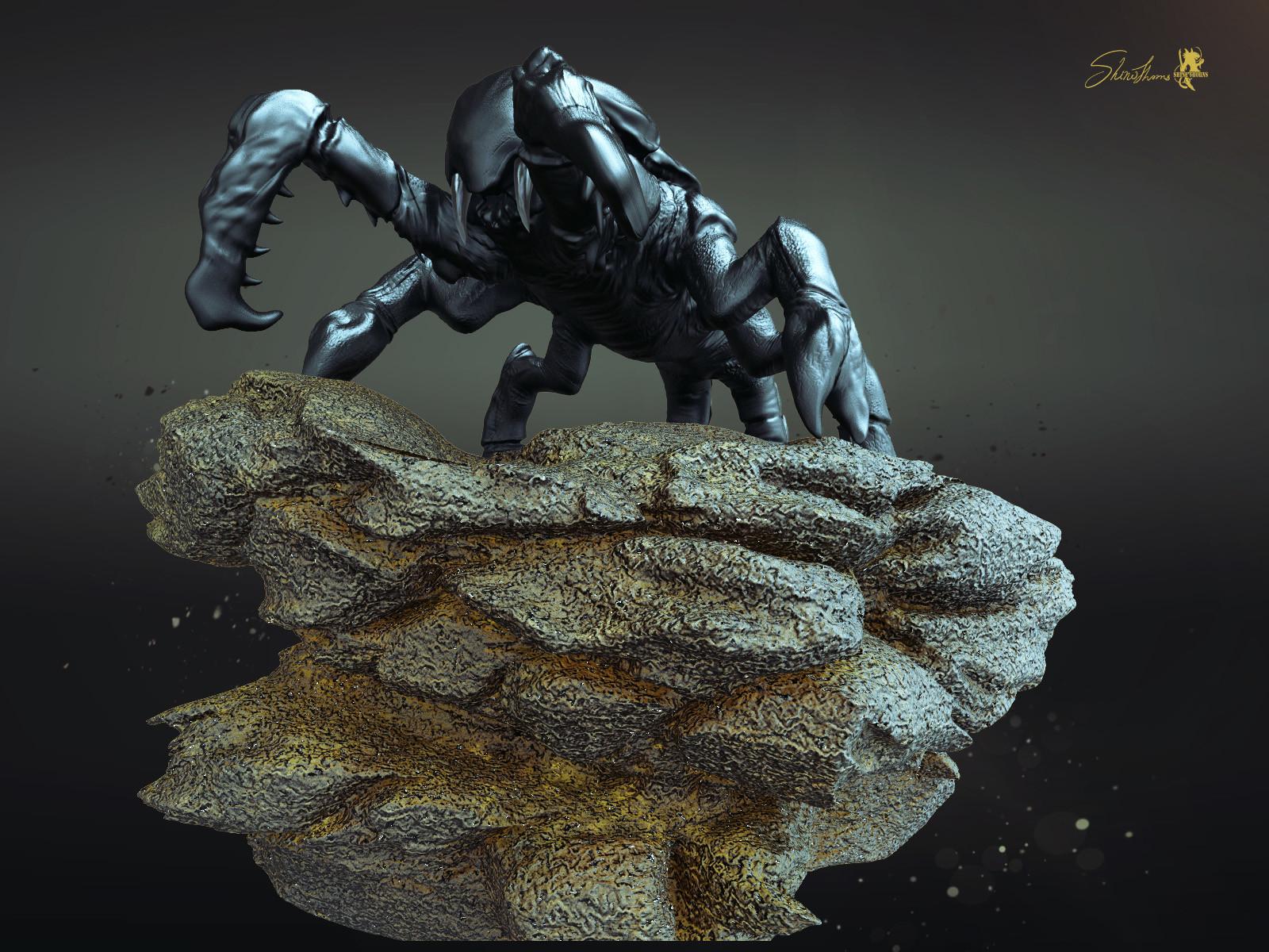 Scorpion Sculpting