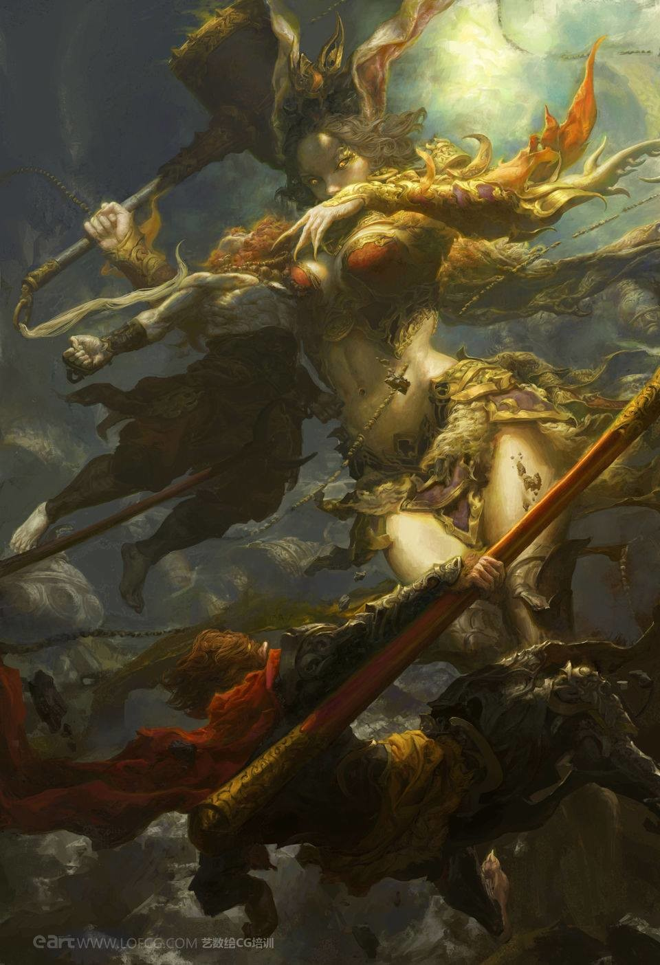 Fenghua zhong queen of the monkeys