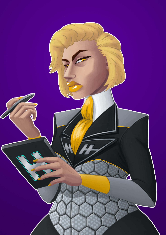 Helen o dell hyperion blonde