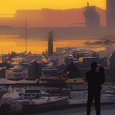 Marcin rubinkowski sundown stylized
