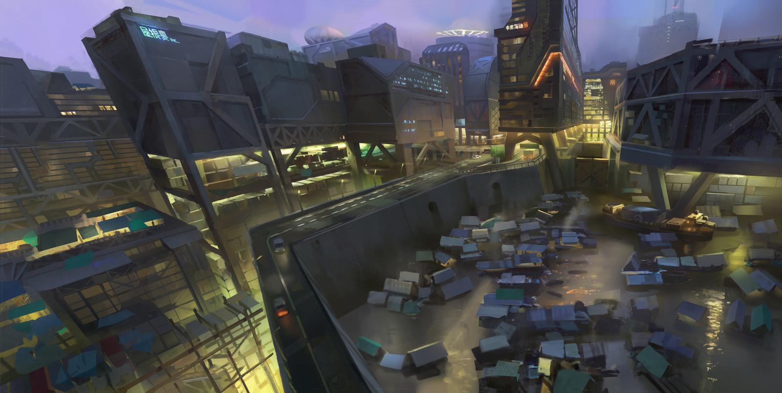 Walled City (+ process)