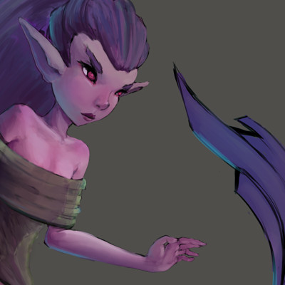 Nicholas hylands purplegirl2 2