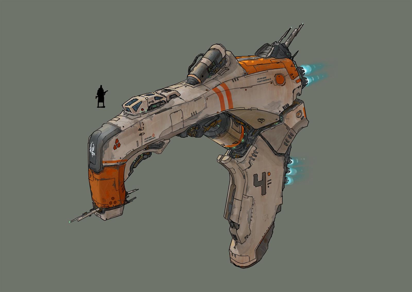 spaceship practice