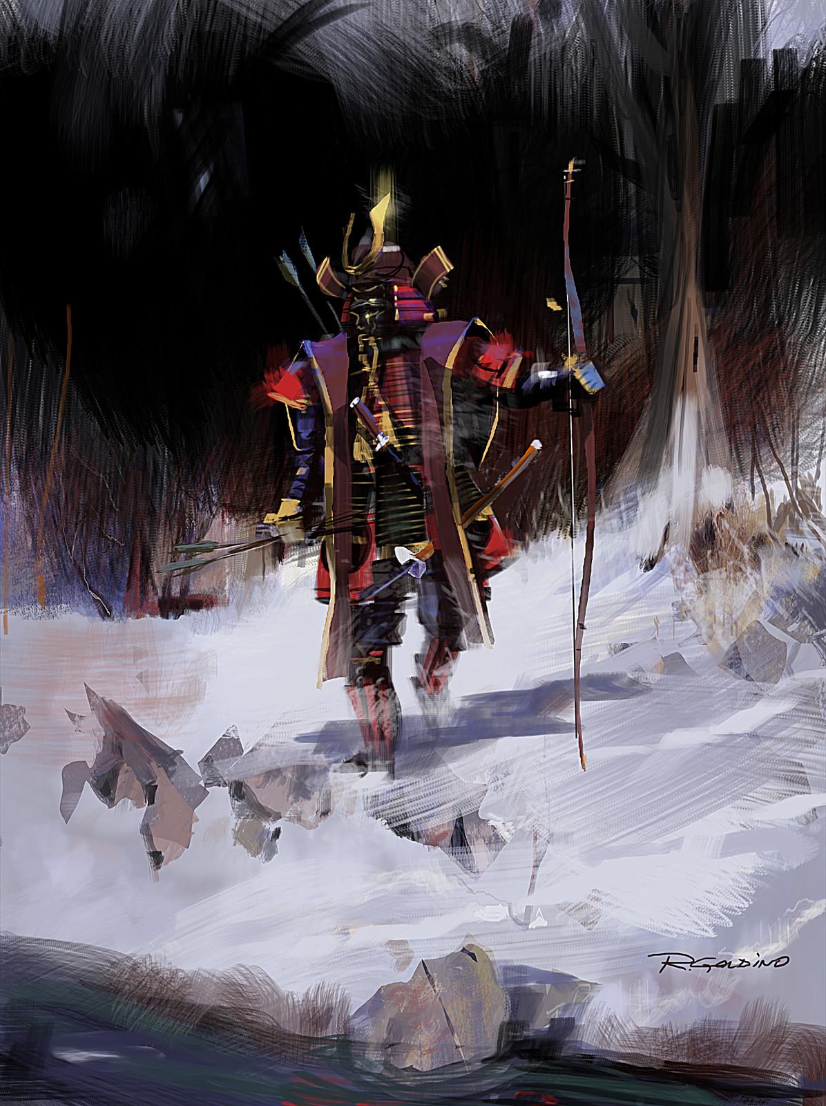 Samurai - After studying Richard Schmid