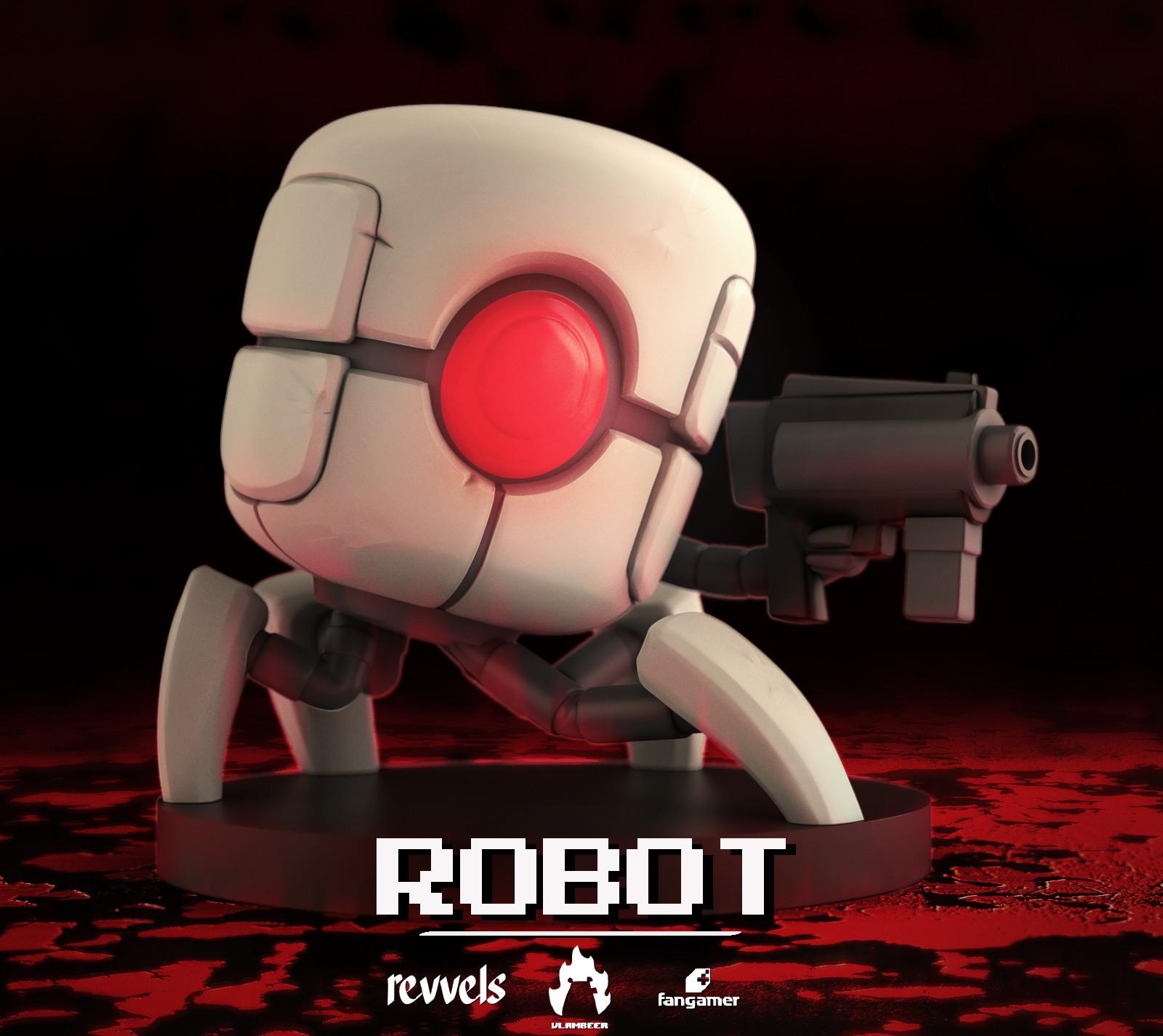 Gijs revvels van kooten robot hero