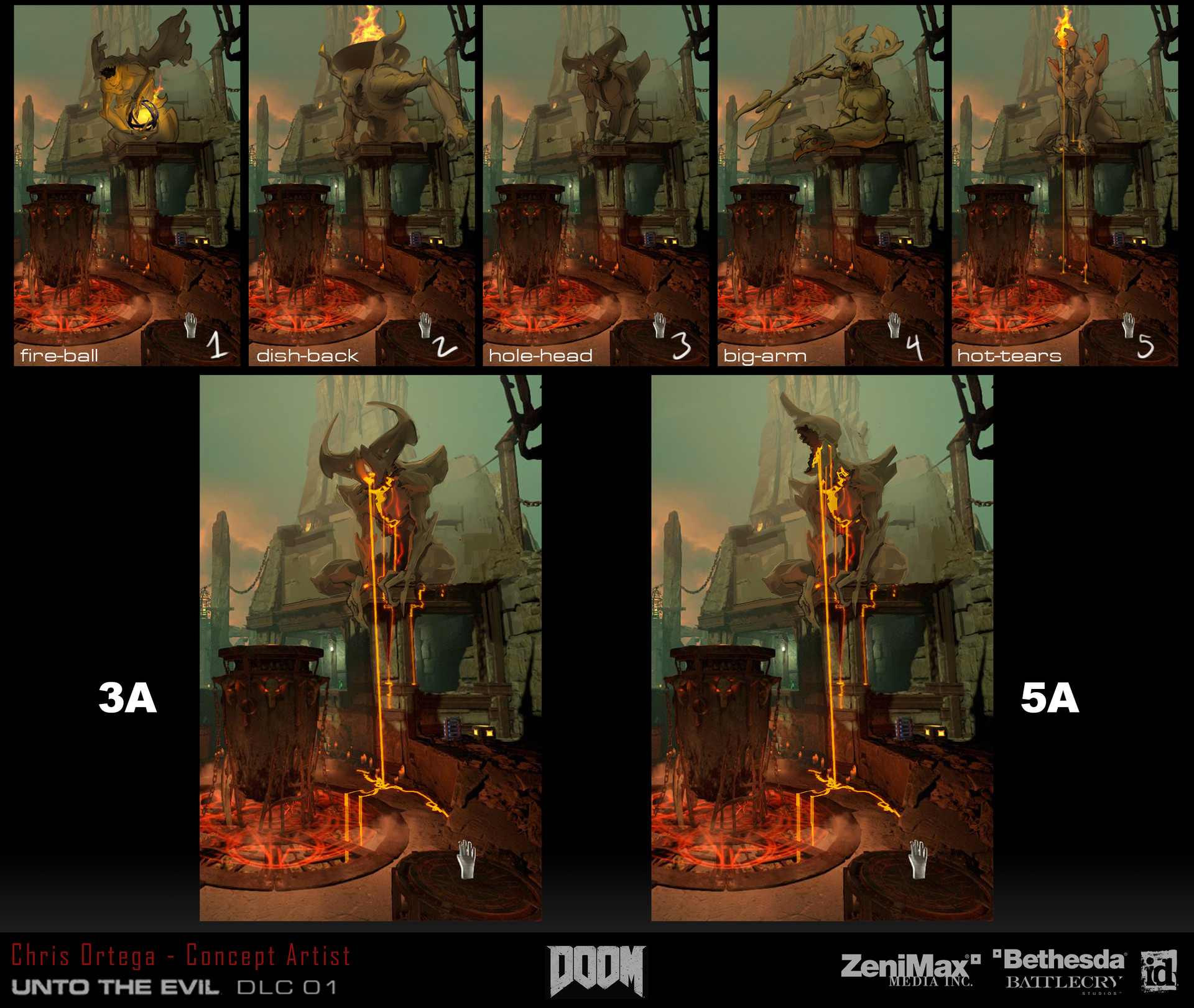 Chris ortega demon statue2