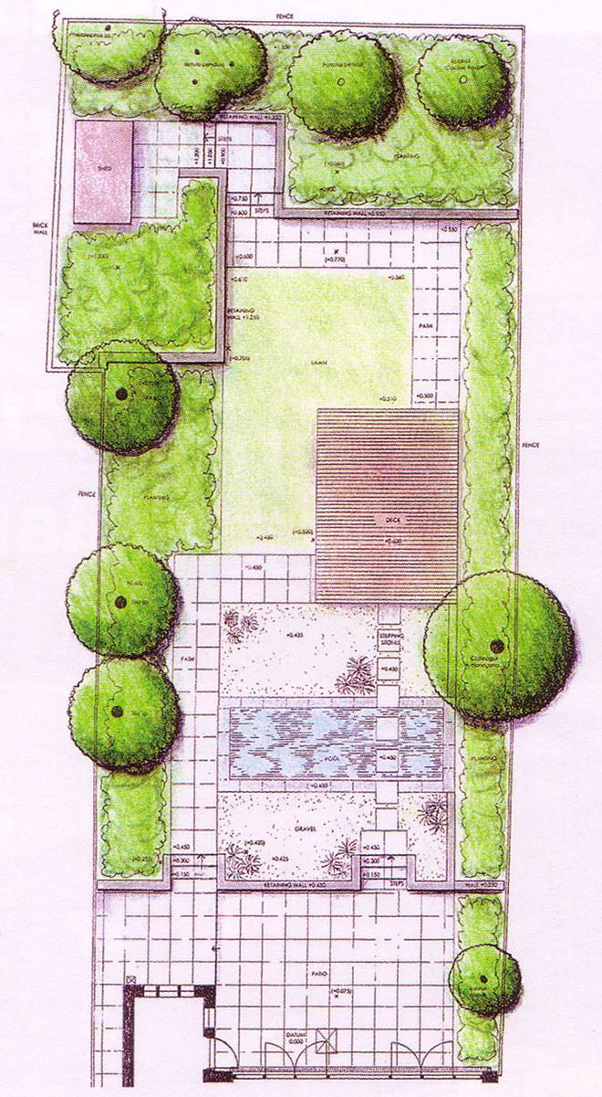 Francois bethermin garden design plan