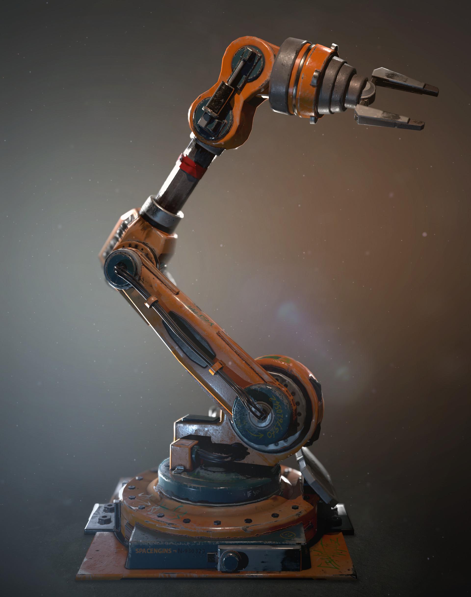 Leonardo iezzi leonardo iezzi robot arm