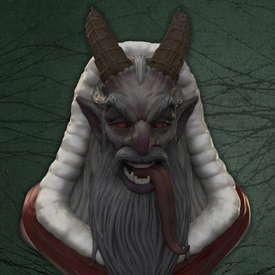 Jake angell krampus2 render