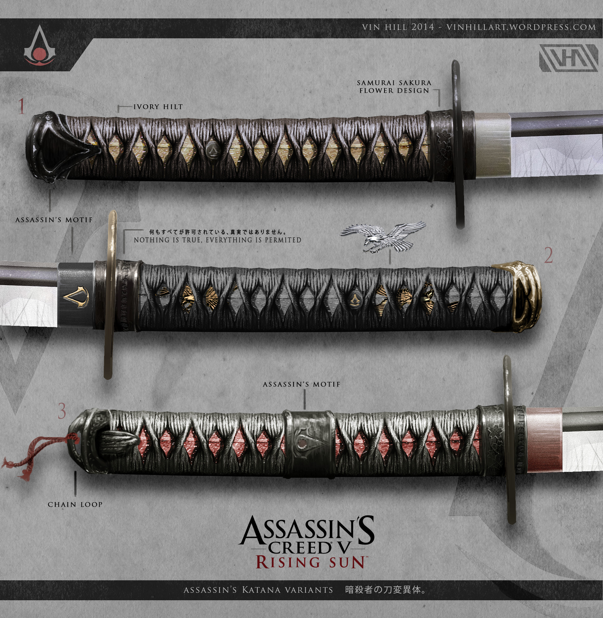 Vin hill assassins creed 5 swords