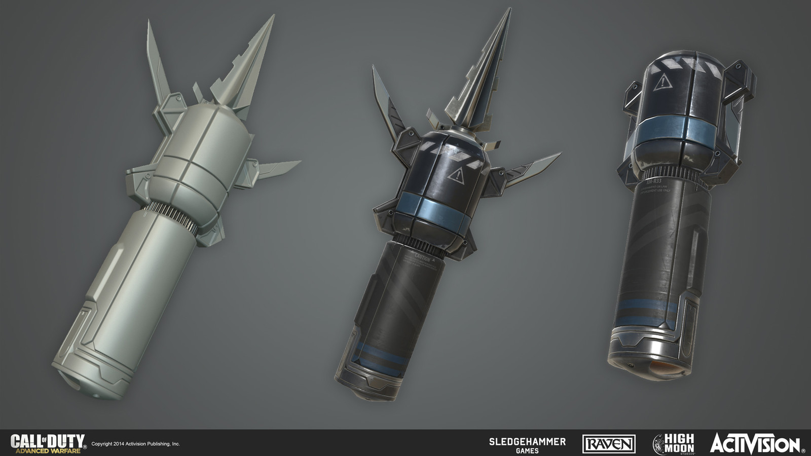 Resonator Device, first person player equipment.