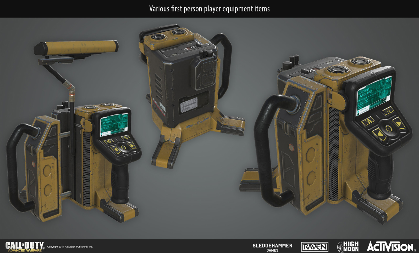 Tactical Insertion Equipment, first person player equipment.