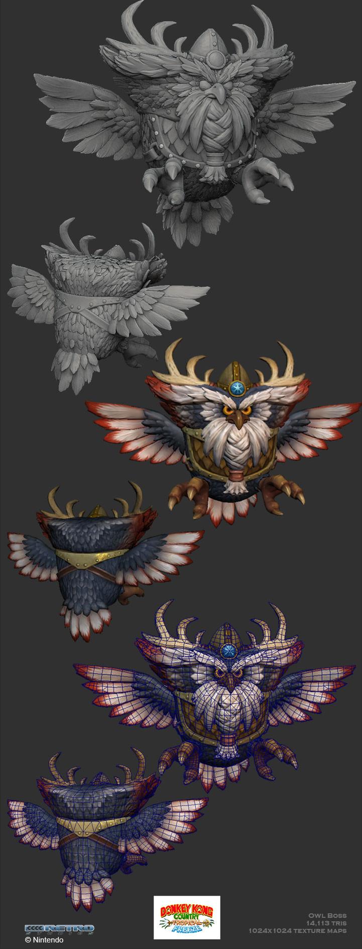 Crystel land owl