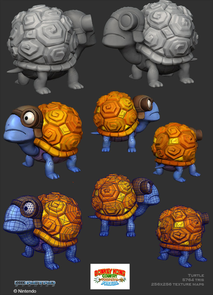 Crystel land turtle