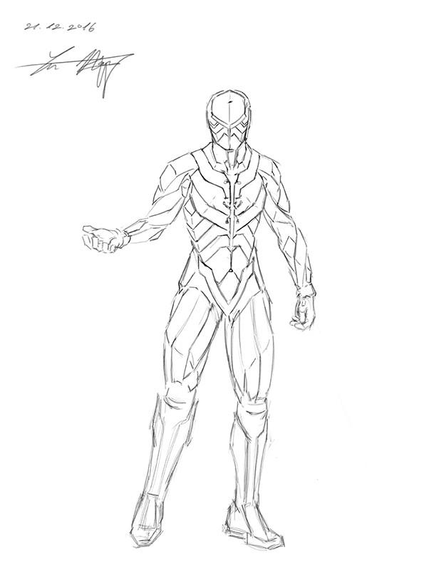 Yun nam 16 12 21 sci fi armor fem1