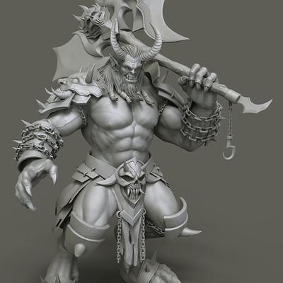 Subinoy roy monster render final