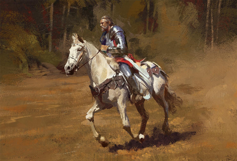Grzegorz rutkowski knight study 1500