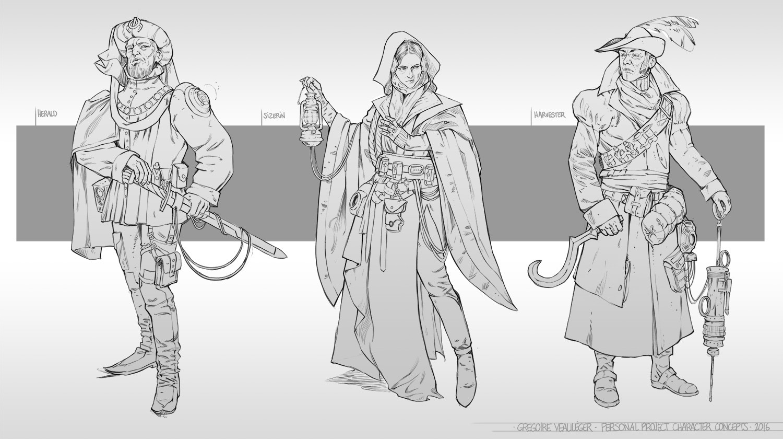 Gregoire veauleger gregoire veauleger character concepts