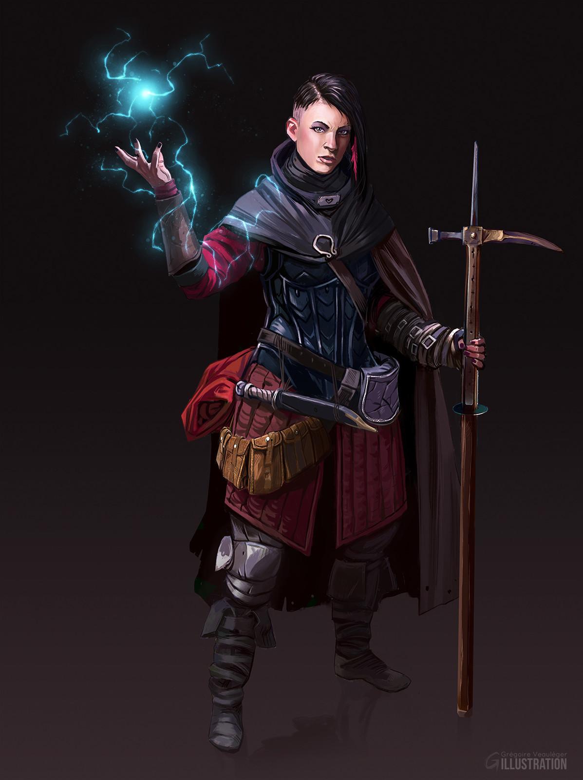 Wizard-ish rogue.