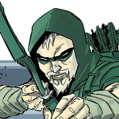 Geraldo borges green arrow rebirth