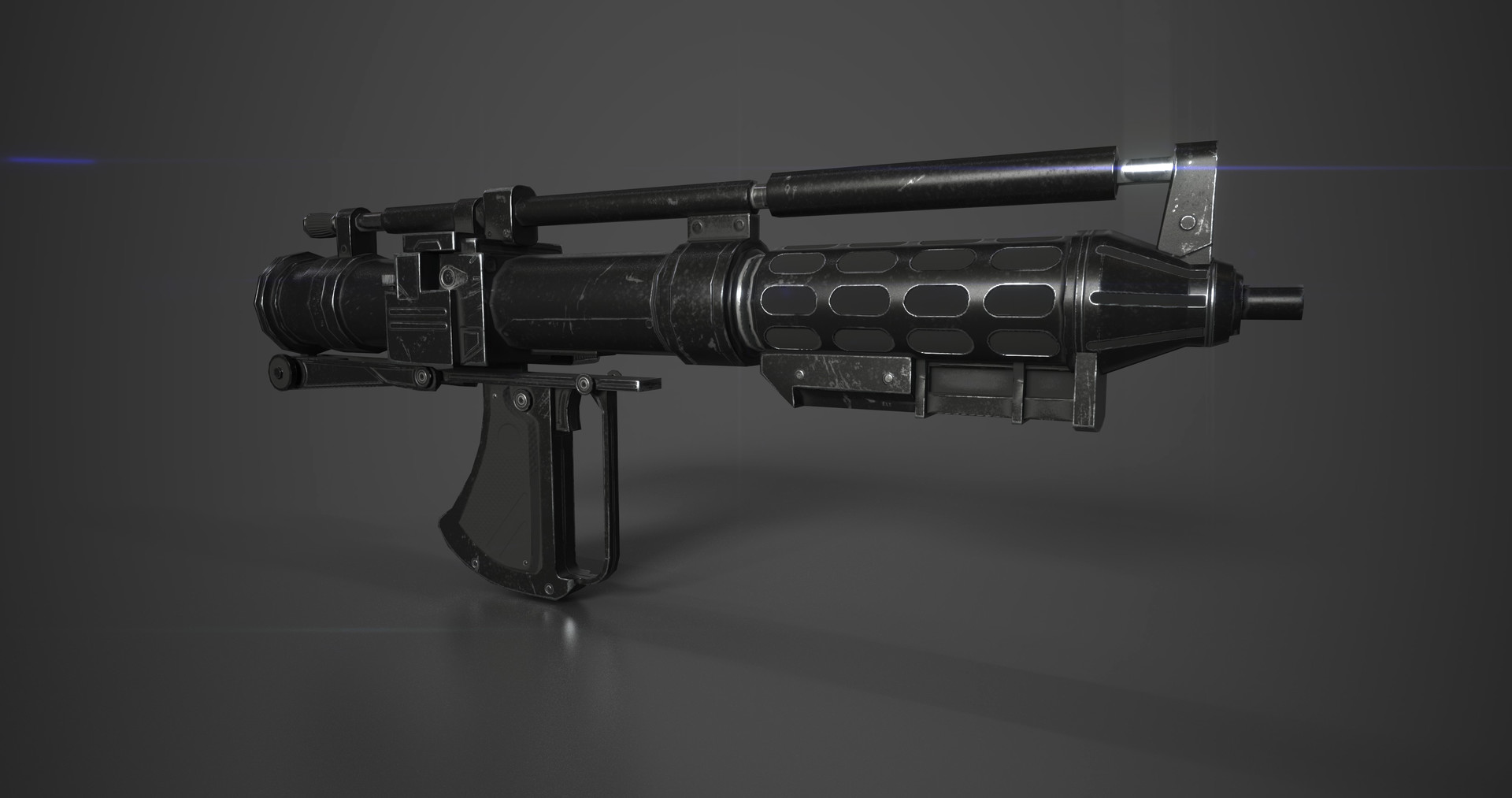 Tristan siodlak battle droid blaster low view1
