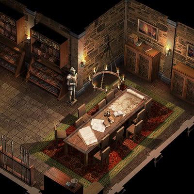 Ferdinand ladera medieval interior a
