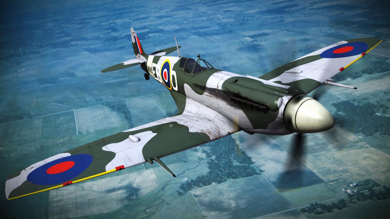 SUPERMARINE SPITFIRE MK-XII 42st Squadron