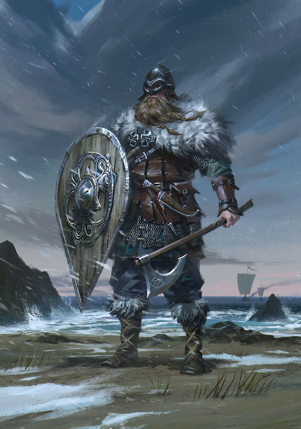ArtStation - Viking, B S