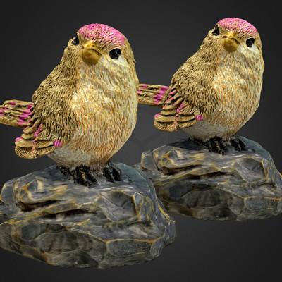 Vlx kuzmin small birdie raw scan and lowres freebie