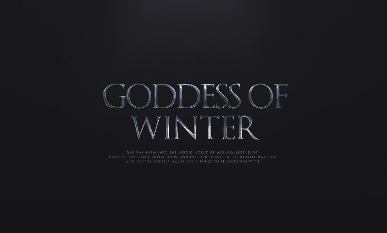 ArtStation - Goddess of winter, Rubén Álvarez