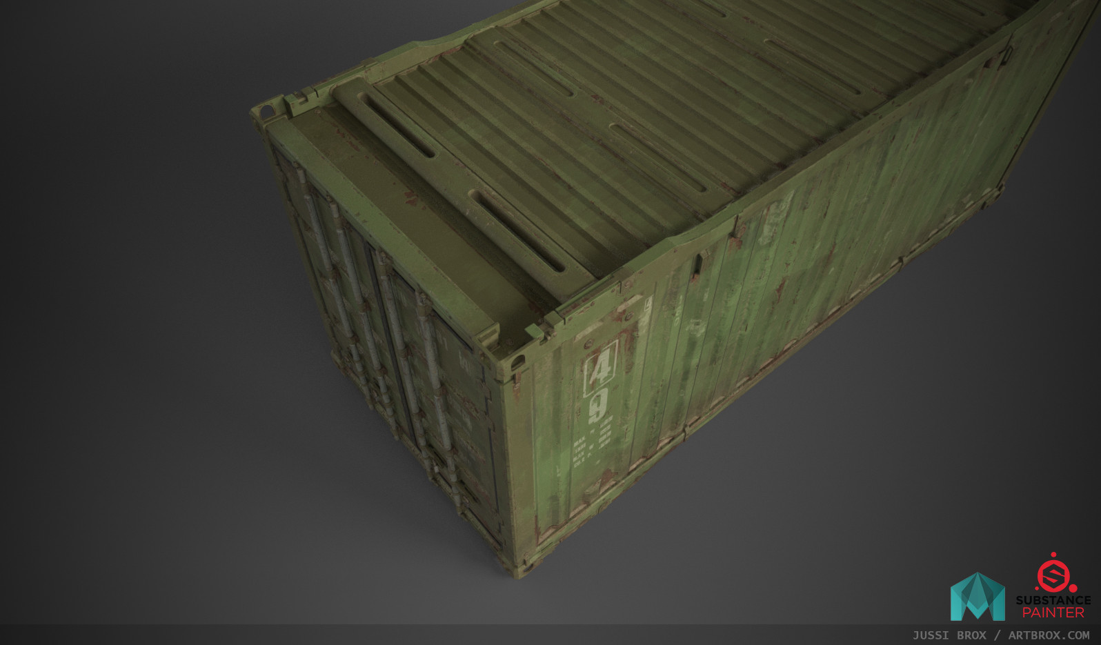 Shipping Container Asset