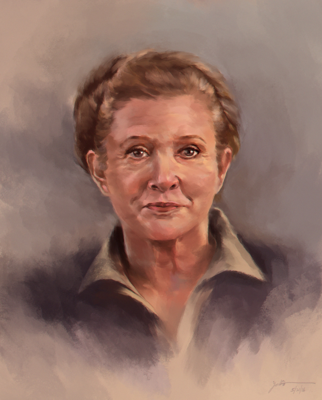 Carrie Frances Fisher (21 October 1956 - 27 December 2016)
