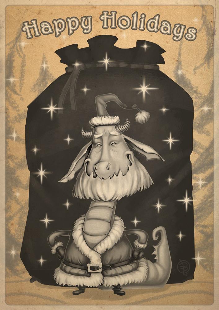 Andrey kamenov santa happyholidays2016