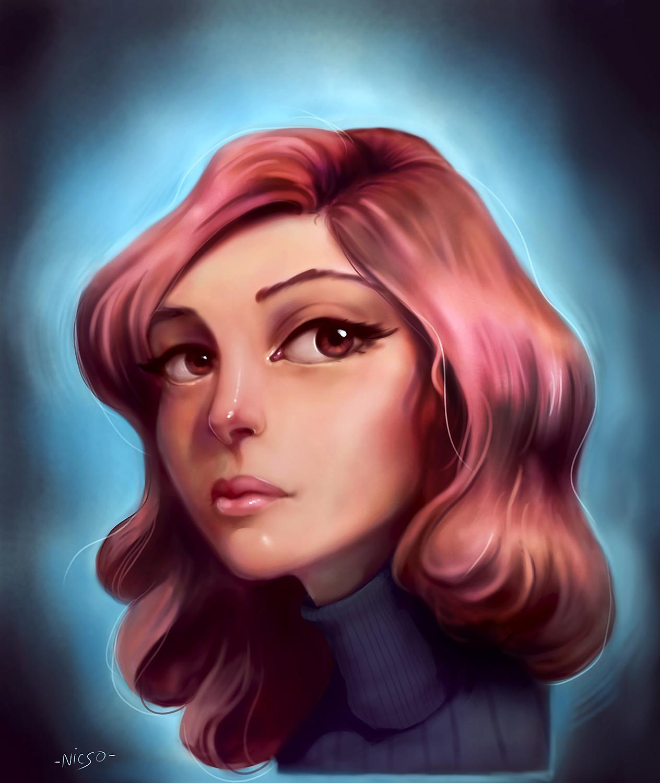 Yannick sala krita portrait women65465