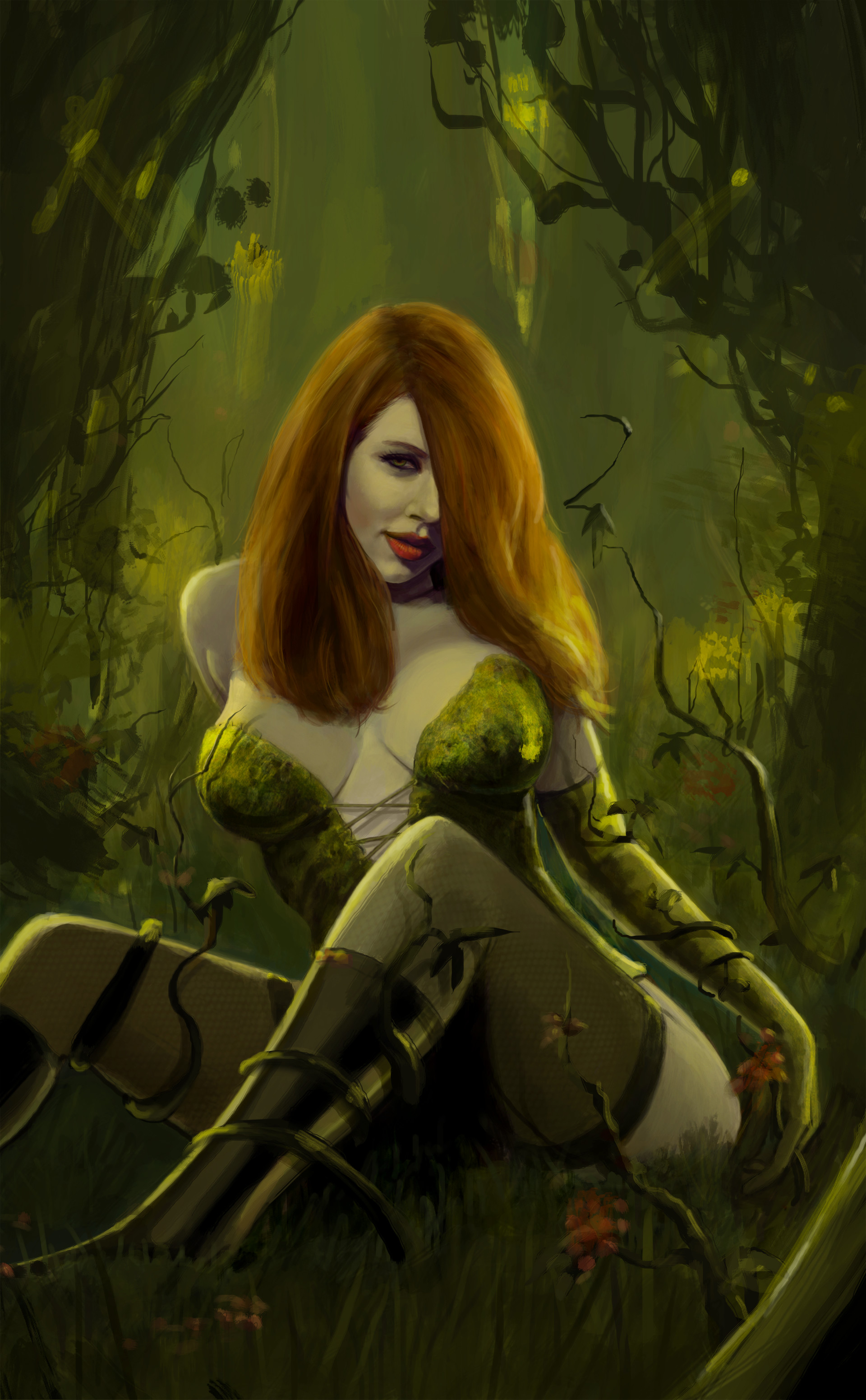 Sexy poison ivy Can I