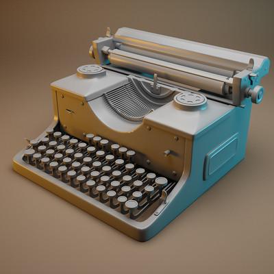 Ben henry typewriter
