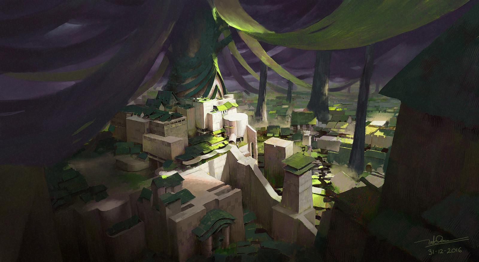 secret village