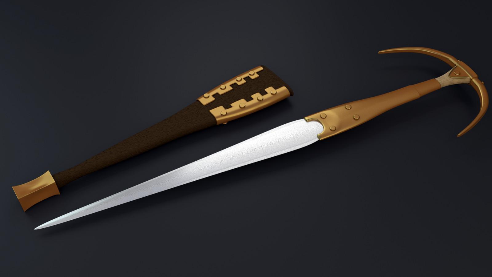 alaca dagger an sheath
