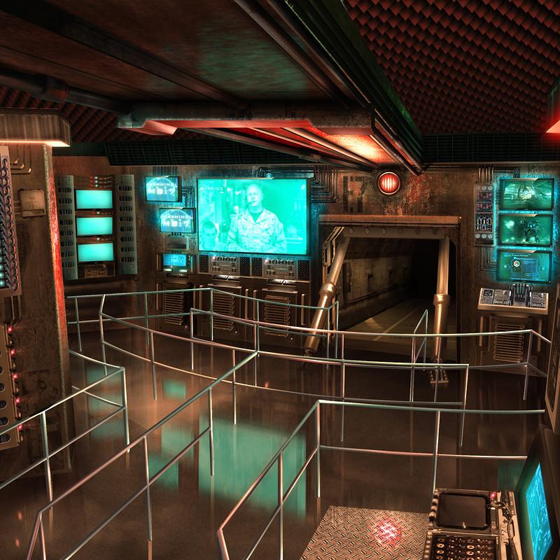 N.E.S.T. Control Room