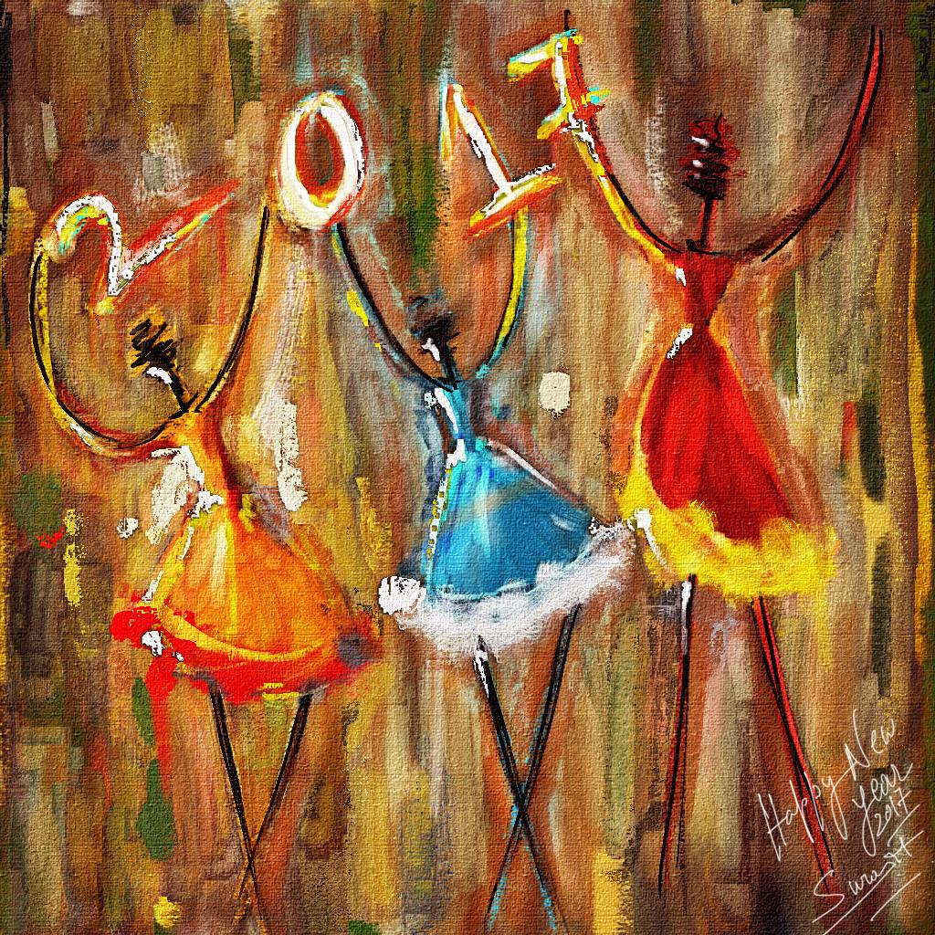 Surajit sen happy year 2017 surajitsen