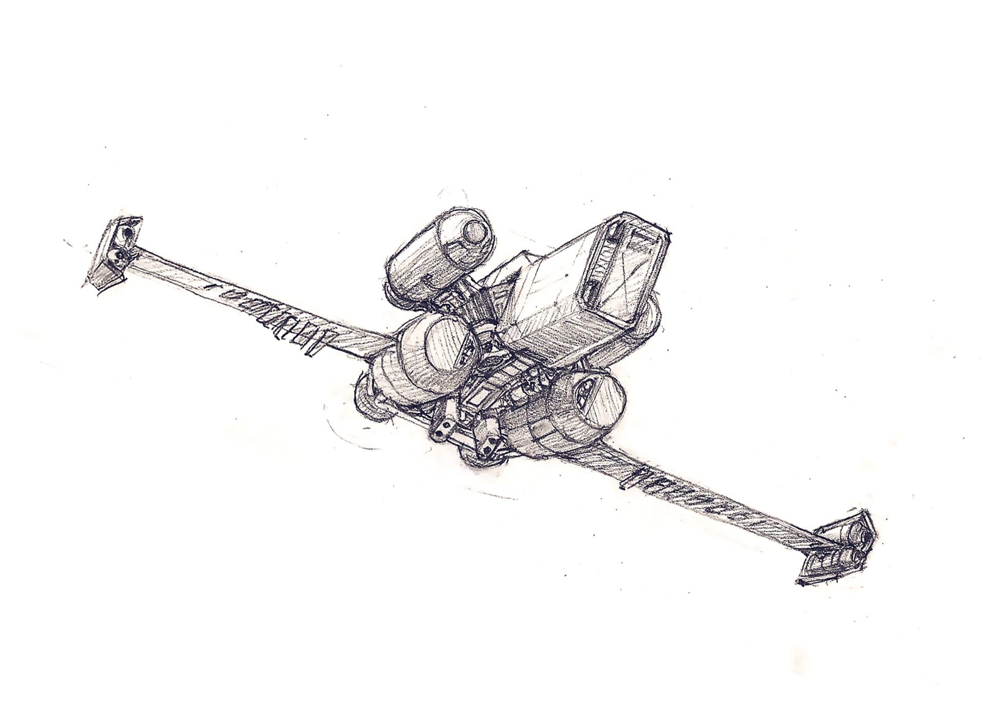 Eric geusz landing wip1