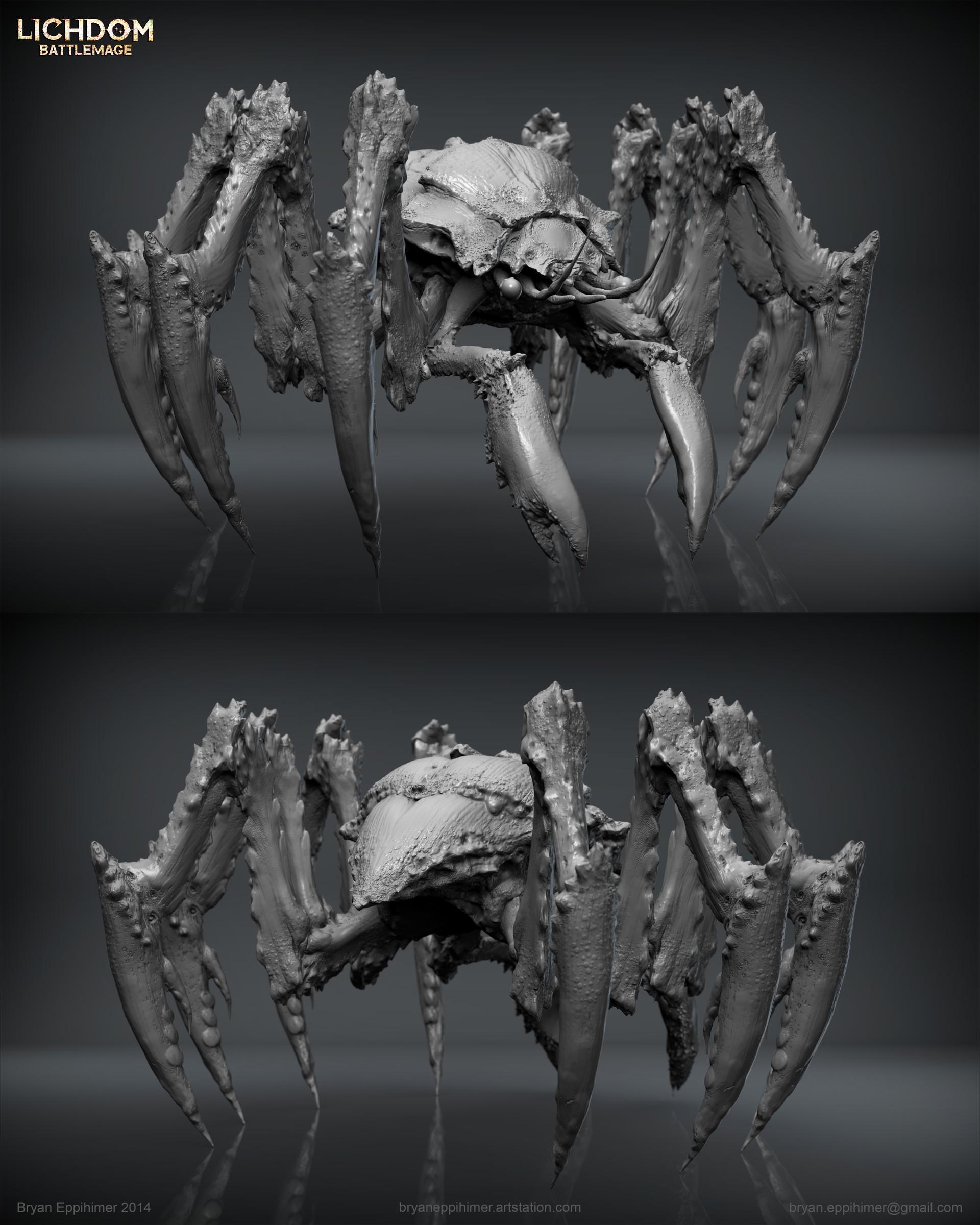 Bryan eppihimer bryaneppihimer xaviant creature parasite 2014