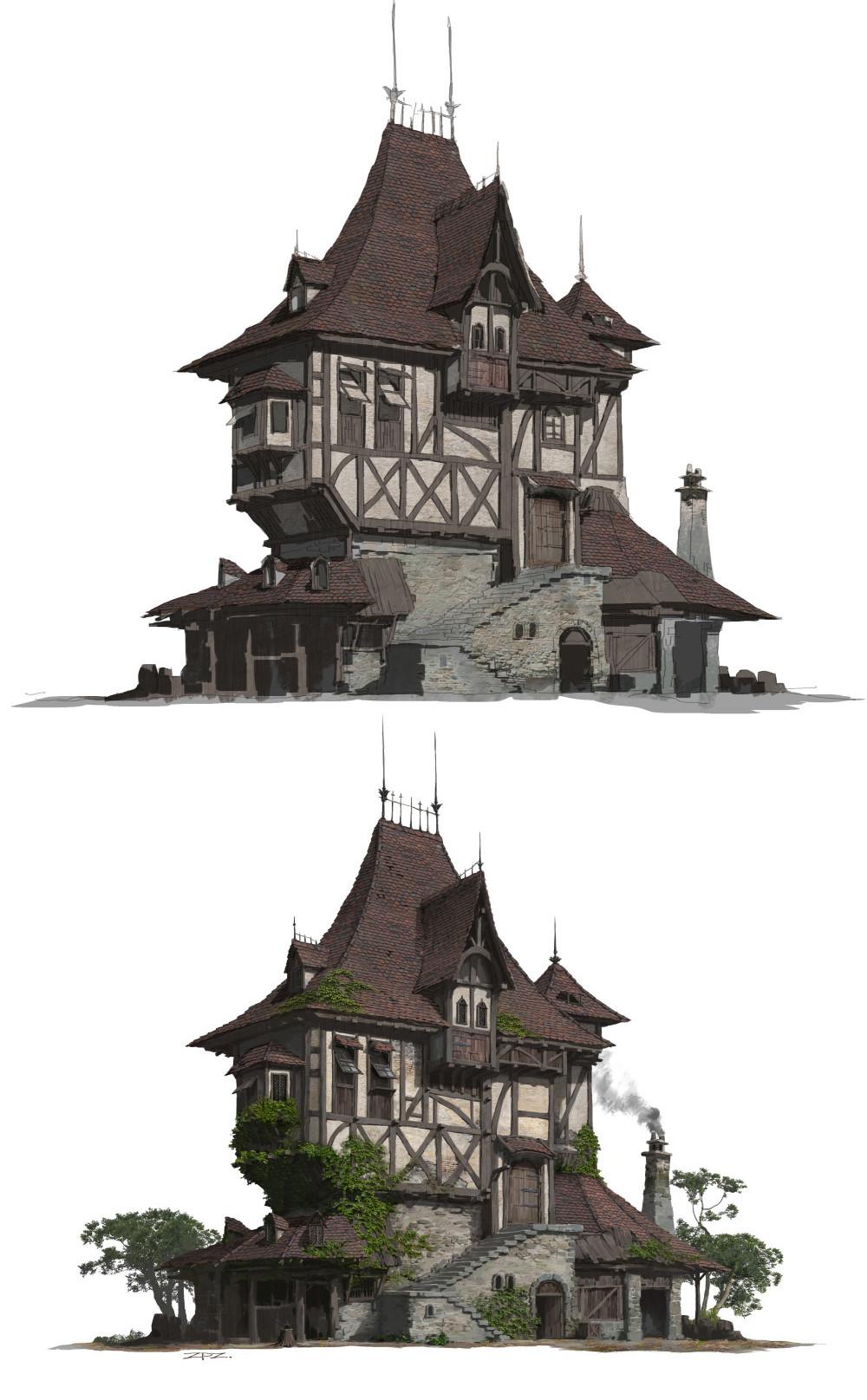 Pengzhen Zhang A Folk House Design