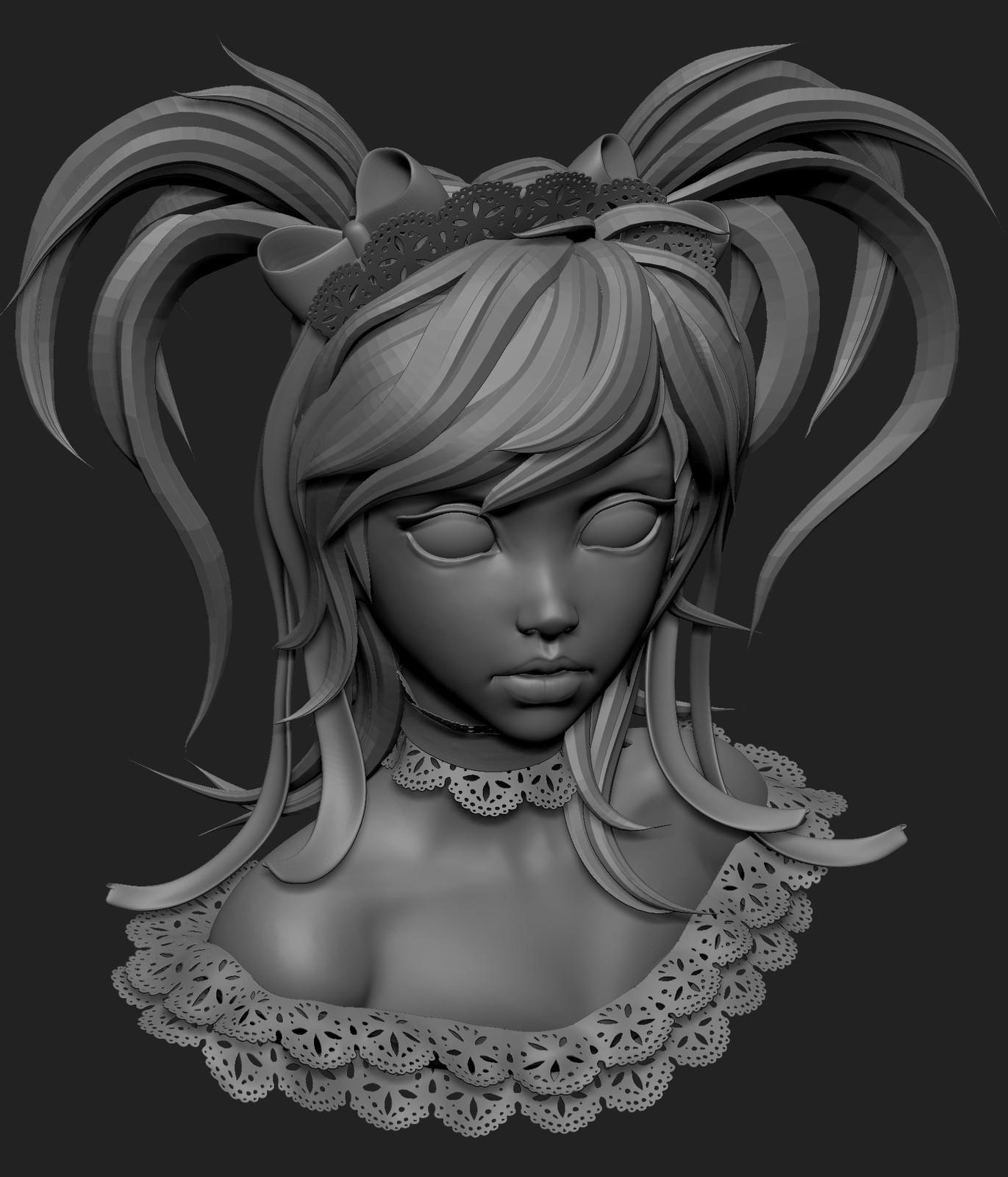 ArtStation - Yoda-girl, Olya Anufrieva