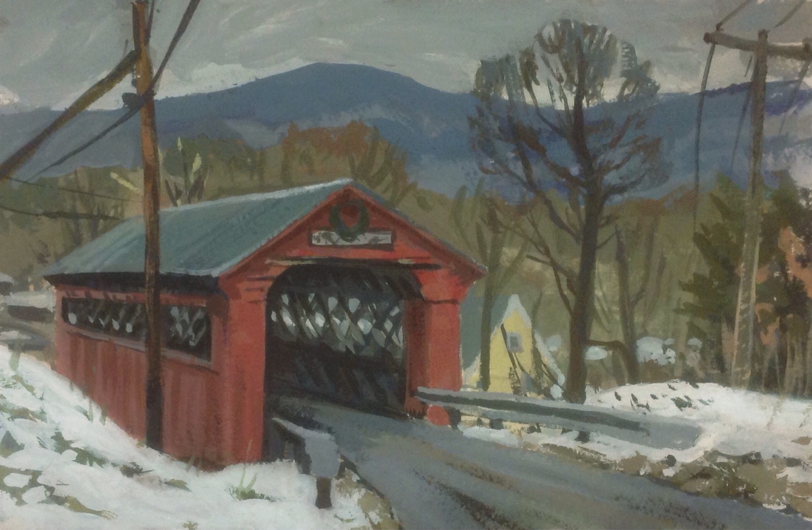 Arlington covered bridge, Vermont, USA.