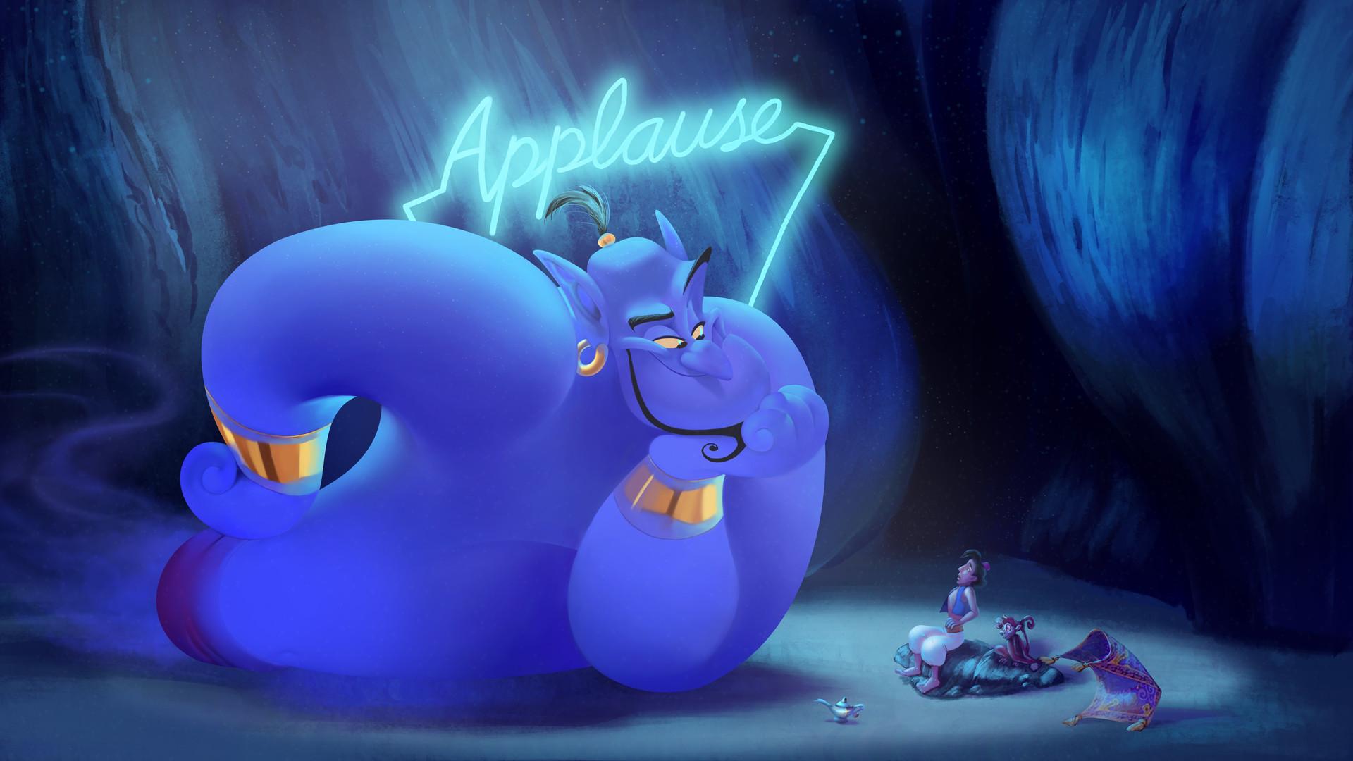 Barby Buenrostro Aladdin Genie Applause Redone