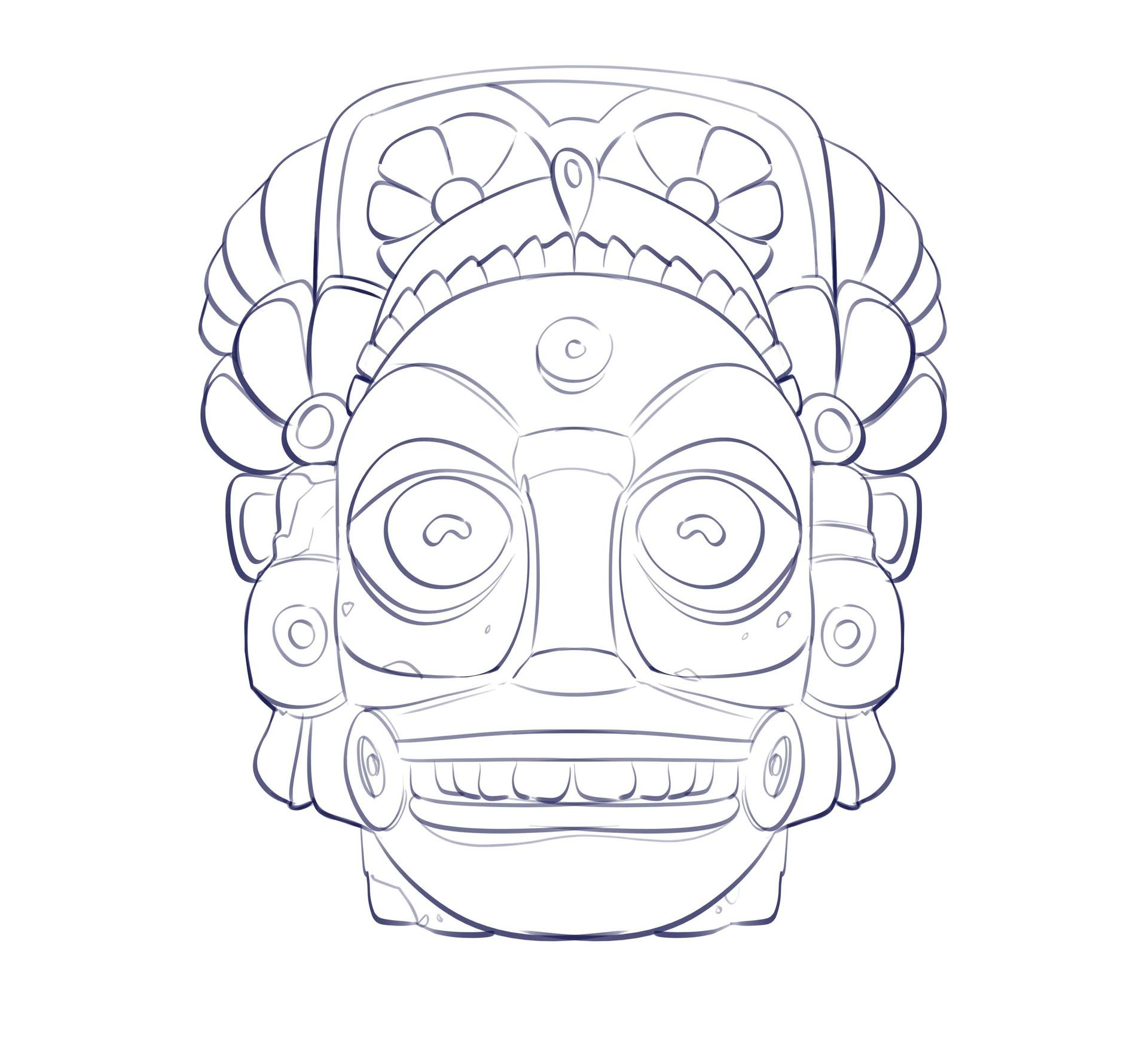 Sahil trivedi mayan sculpture1